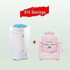 The Laundry Alternative Pink Wonderwash Washing Machine 2 and Ninja Spin Dryer