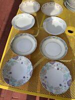 Vtg Mismatched China ~Set of 8 Soup / Cereal Bowls ~