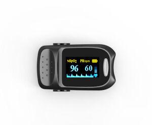 Fingertip Pulse Oximeter Pulse Rate SpO2 Blood Oxygen Saturation Health Monitor
