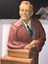12� Tall Tom Clark Resin Sculpture Figurine Parson Patterson 1984 Preacher Pray