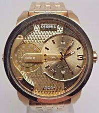 Diesel Men's The Daddies Series Analog Display Analog Quartz Gold Watch DZ7306