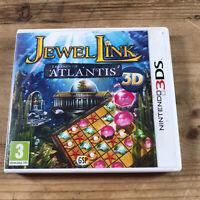 NINTENDO 3DS GAME JEWEL LINK - LEGEND OF ATLANTIS 3D