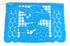 Day of the Dead theme Mexican papel picado banner bunting plastic 5 metre