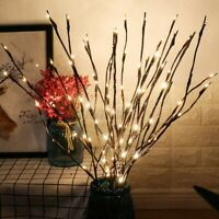 20LED Natural Willow Twig Lighted Branch for Home Xmas Decor Battery