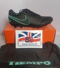 Nike Tiempo Legend IV AG-Pro [844593 004] UK 6 US 7 EU 40 nero/verde (RARA)