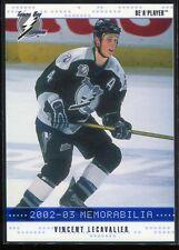 2002-03 BAP Memorabilia Sapphire 187 Vincent Lecavalier 88/100