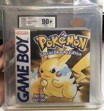 NINTENDO GAME BOY - POKEMON YELLOW (AUTHENTIC RED STRIP SEALED UKG/VGA 90+)
