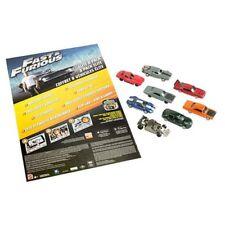 Fast and Furious Elite 1:55 Scale Die-Cast Metal Vehicle 8-Pack-NIP