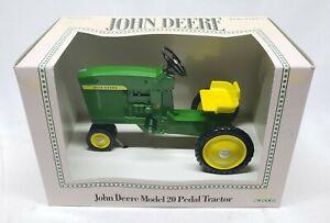 John Deere Model 20 Pedal Tractor By Ertl 1/8 Scale Replica