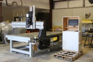Used 2006 Frog 4' x 8' 3 Axis CNC Router