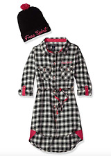 NWT Limited Too Girls' Casual Dress with Beanie Hat