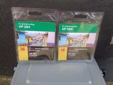 kodak HP 364 magenta remanufactured ink cartridge 5ml (X2)