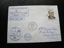 TAAF - enveloppe 13/5/1985 (cy57) (timbre de france)