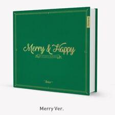 Twice-[Merry & Happy]1st Repackage Merry Ver CD+Poster+ETC+PreGift