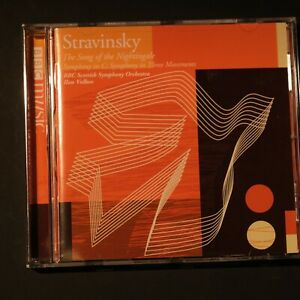 Stravinsky - The Song of the Nightingale - BBC music ,  CD Disc~* Like new!