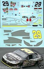 NASCAR DECAL #29 HERSHEY'S MILK CHOCOLATE 2006 MONTE CARLO KEVIN HARVICK