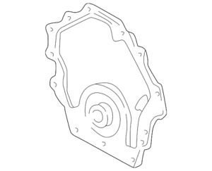 Genuine GM Timing Cover 12576050