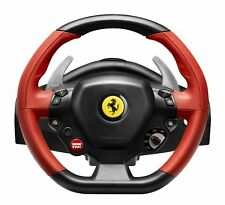 Xbox One Thrustmaster 458 Racing Steering Wheel Ferrari Sport Pedal Pro Gamer