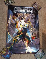 "Vintage 1994 Disney Gargoyles Spectra Foil Movie Poster 26"" x 39"""