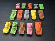 Vintage 1970s Matchbox Lesney Rubber Cars Lot Of 15 McDonalds Test