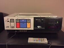 Vintage 1980's JVC HR-7100U 4-Head VHS VCR, Top Load, The Goldbergs