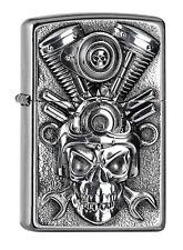 Zippo Engine Skull Emblem 2005716 NEU+OVP Spring 2018 Aktion