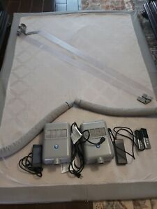 Used Select Comfort Sleep Number Queen Dual Temp Layer, Pump & Remote