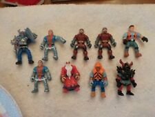 2001 SMALL ACTION FIGURES LOT OF 9