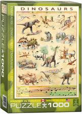 "Eurographics  -  ""Dinosaurs"" - 1000 piece Jigsaw Puzzle NEW"