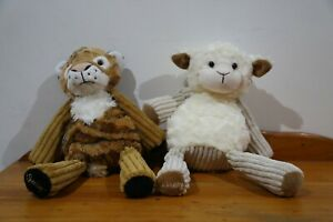 Scentsy Buddy Lenny The Lamb and Tucker the Tiger Duo Bundle (no scent packs)