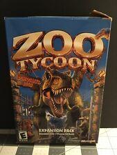 Zoo Tycoon Dinosaur Digs Expansion Pack Microsoft Game Studios PC Big Box 2002
