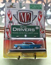 M2 Machines Auto-Drivers 1957 Ford Fairlane 500 Blue