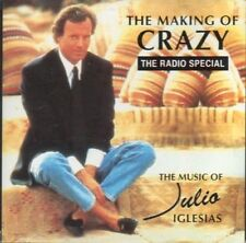 Julio Iglesias The Making Of Crazy 2 CD PROMO The 1994 Canadian Radio Special