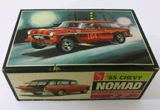 Vintage AMT '55 Chevy Nomad 1/25 Model Kit 2555 T 289-225 Partially Assembled