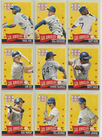 2013 Hometown Heroes Los Angeles Dodgers Team Set 12 Cards Bill Buckner / Ryu RC