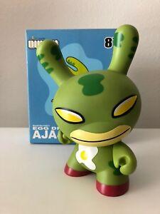 """DUNNY - GREEN - Egg Drop AJAJA - David Horvath - 8"""" Kidrobot"""