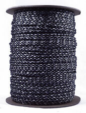 Black & White Camo - 550 Paracord Rope 7 strand Parachute Cord - 1000 Foot Spool