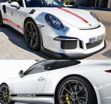 Porsche 718 Boxster Cayenne 911 Panamera Stripe Hood Top Tail Side Skirt Sticker