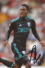 WEST BROM: JONATHAN LEKO SIGNED 6x4 ACTION PHOTO+COA