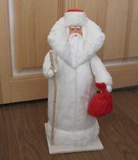 SANTA CLAUS (DED MOROZ) Cotton Vintage XMAS Decor CHRISTMAS Ornament Russia USSR