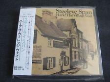 STEELEYE SPAN, Hark! The Village wait, JAPAN CD + Obi, SH 79052 (1970) as new