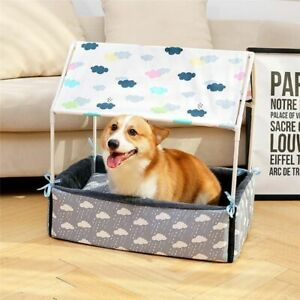 Dog Tent Sofa Dog Beds for Medium Dogs Two In One Pet Bed Cat Tent+Pillow Large
