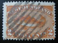NEWFOUNDLAND Sc. #48 scarce used stamp! SCV $8.00