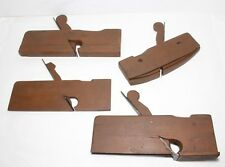 Solid Wood Antique Molding Plane lot of 4