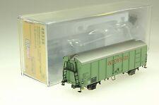 Brawa H0 48338 gedeckter Güterwagen UIC Standard 1 Interfrigo der DB NEU und OVP