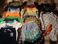 Lot of 21 pieces, boys 24 months clothing outfits.