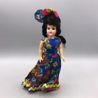 "Vintage Plastic Doll w/ Dress 7"""
