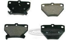 Disc Brake Pad Set-Semi-Metallic Pads Rear Tru Star PPM823