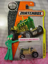 2017 MATCHBOX #40 CROP MASTER☆green/tan tractor;CANON☆CONSTRUCTION☆Case A/B☆