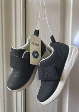 Cat And Jack Boys  Kolbi Black Round Toe Tennis Sneaker Size 9 NWT